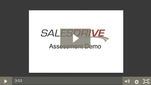 sales personality assessment test demo video
