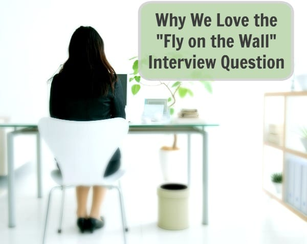 Why We Love The Fly On The Wall Sales Interview Question