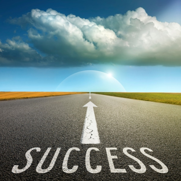 road to improving sales success