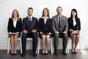 sales-interview-candidates-waiting-for-sales-aptitude-test
