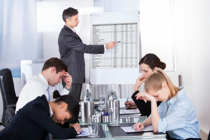 Bad Sales Training Techniques Bores Salespeople