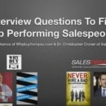 Interview Questions to Find Top Performing Salespeople [Video]
